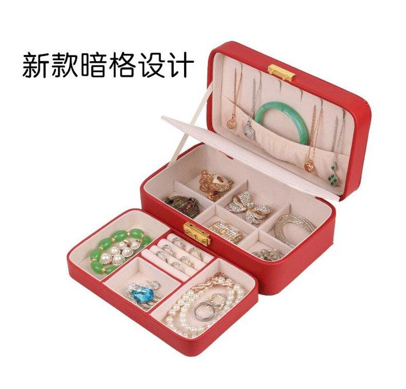 Makeup Jewelry Storage Box European Princess Korean Jewelry Boxes