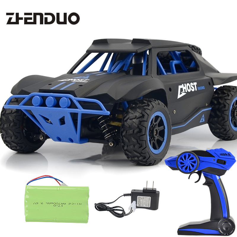 RC 1:18 2.4G wireless remote control drift car remote control car toy short off-road card racing toy model For Children's Gift
