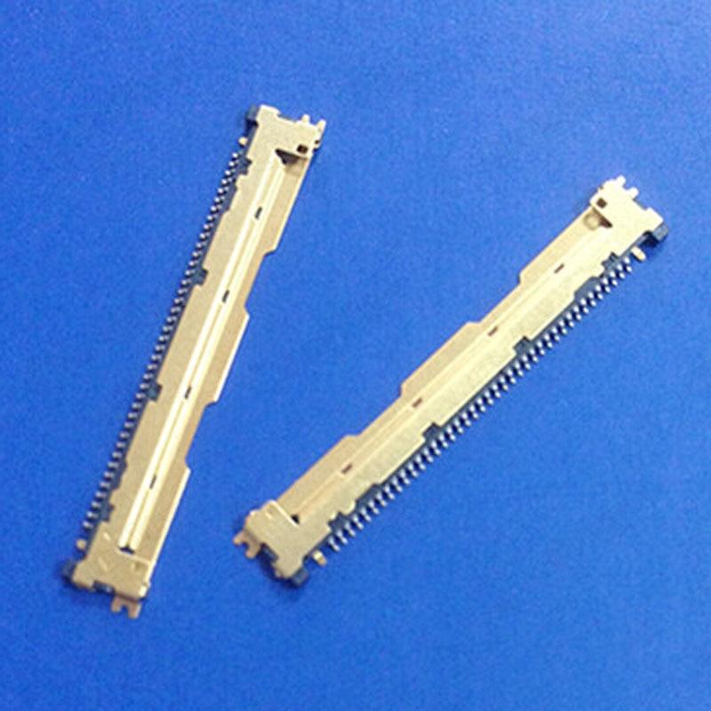 Разъем для ЖК-дисплея 20455-040E, оригинальная розетка LVDS, ЖК-интерфейс, 0,5 интервала, 40 pin, 5 шт.