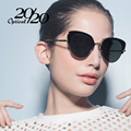 20/20 Brand Polarized Sunglasses Women Luxury Metal Cat Eye Eyewear Classic Sun Glasees For woman Oculos 7063