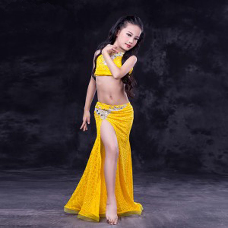 New Luxury Sexy Oriental Dance Costume Suits for kids children nice high quality girls Belly Dancing Performance Costumes dress