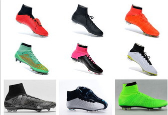 7f7278ae7 ... 2015 men s Superflys FG football boots Soccer Cleats High Ankle