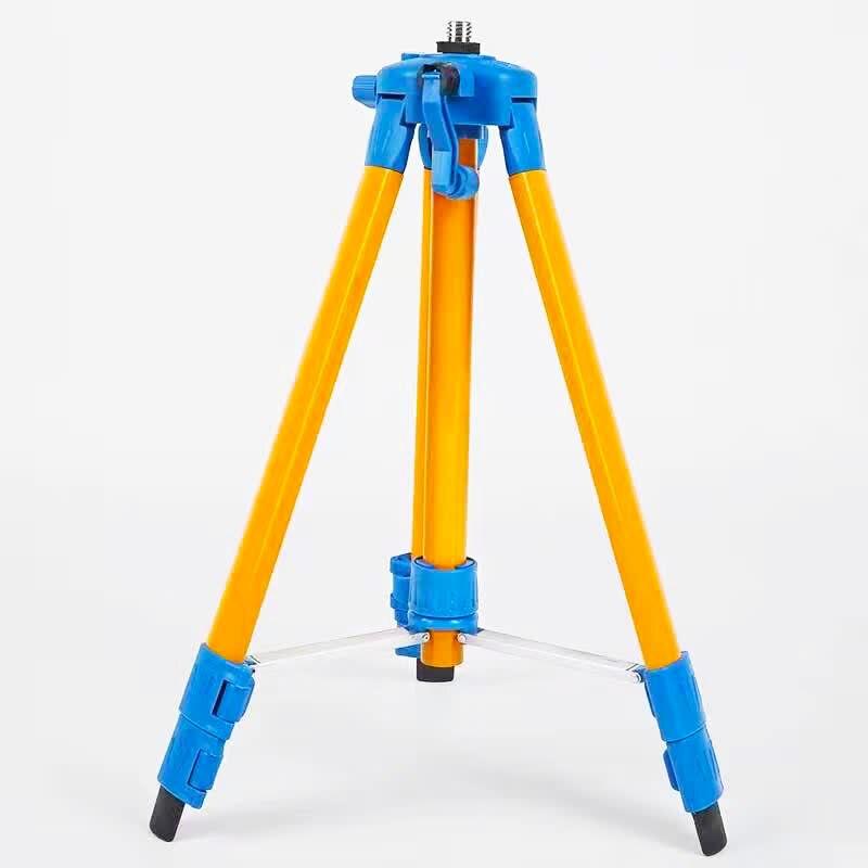 120 cm niveau laser trépied nivel laser trépied professionnel peint trépied pour niveau laser Trépied en aluminium avec 5/8 adapeter