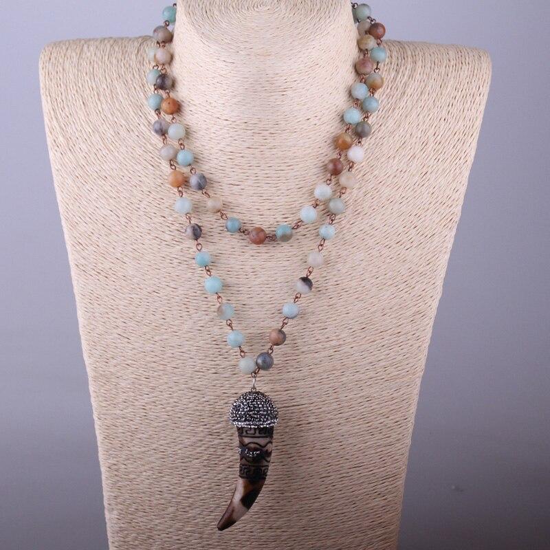 MOODPC Fashion Bohemian Tribal Artisan Jewelry Rosario Chain - Bisutería