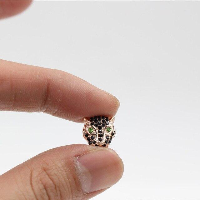 Микрозакрепка nadeem фианиты кристаллы цинковые Амулеты с головой