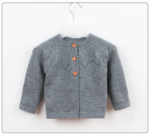 Baby Girls Sweater Cardigan Coat Pullover