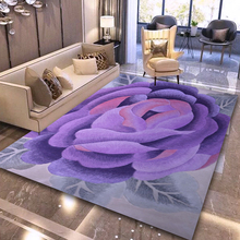 ALITEXTILEBTOC 100% Wool Plus Size Carpet For Home Parlor Hand Carved Floral Tapis Salon Rectangle Non-slip Soft