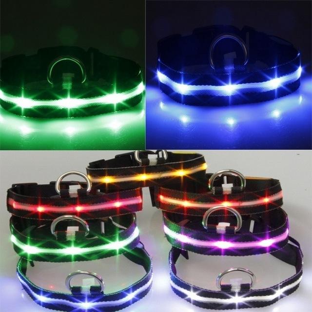 Night Safety Anti-lost Flashing Glow Collars
