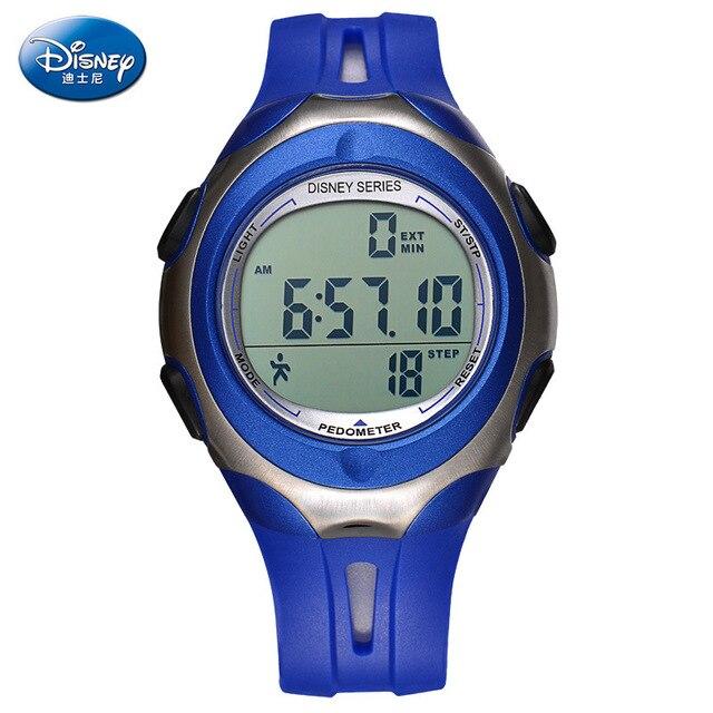 Дисней дети часы многофункциональный электронные часы водонепроницаемые движения 238