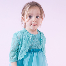 Yingzifang Limited Sale 2017 Girls Baby Summer Cape Coat Wedding Lace Bolero Jackets Clothing Sleeve Kids Bridesmaid Outerwear