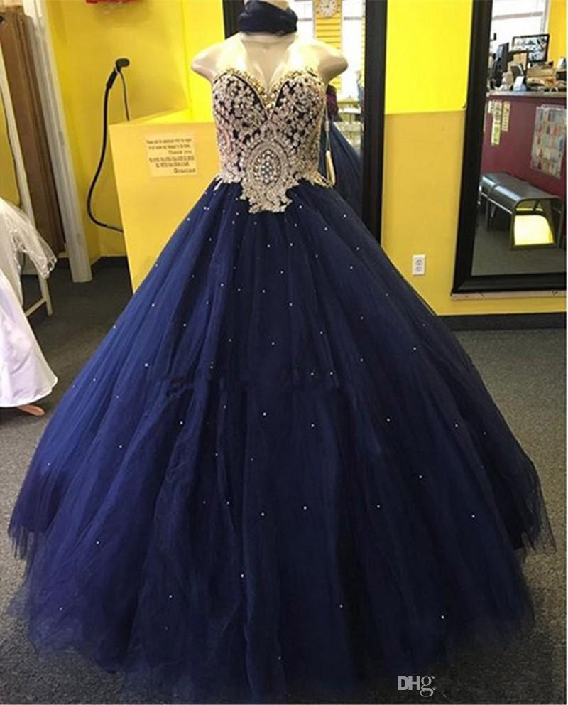 Ball Gown Sweetheart Beaded Formal Evening Gowns Latest