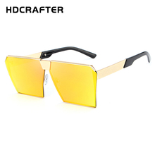 2017 HDCRAFTER New Influx of men wild sunglasses beach sunglasses personality glasses High quality sunglasses for Men and Women