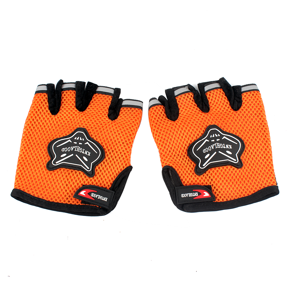 Motorcycle gloves half finger - Half Finger Style Breathable Motorcycle Gloves Bicycle Protective Gears Hot Sale Men Women Fitness 1 Pair