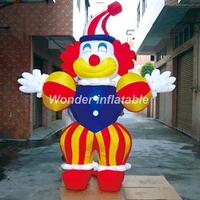 Hot sale giant advertising inflatable clown model jokerman mascot inflatable display for sale