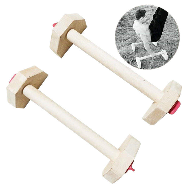 1 Pair Personalised Knob Push Ups Stands Fitness Equipment Detachable Combination Stretch Stand Wooden Double Bars For Men&Women цены онлайн