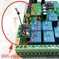 Frete grátis Inteligente Plugue Wi-fi Módulo sem fio para controle remoto GSM-RELAY gsm
