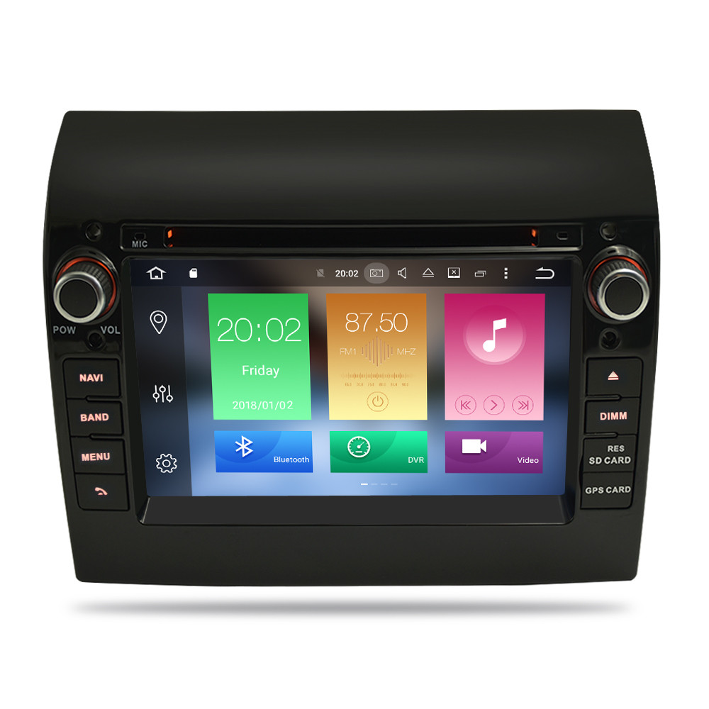 """Image 2 - 8 Core 7"""" IPS Android 9.0 Car Stereo For Fiat Ducato CITROEN Jumper PEUGEOT Boxer DVD Player GPS Navigation Wifi FM Multimedia-in Car Multimedia Player from Automobiles & Motorcycles"""