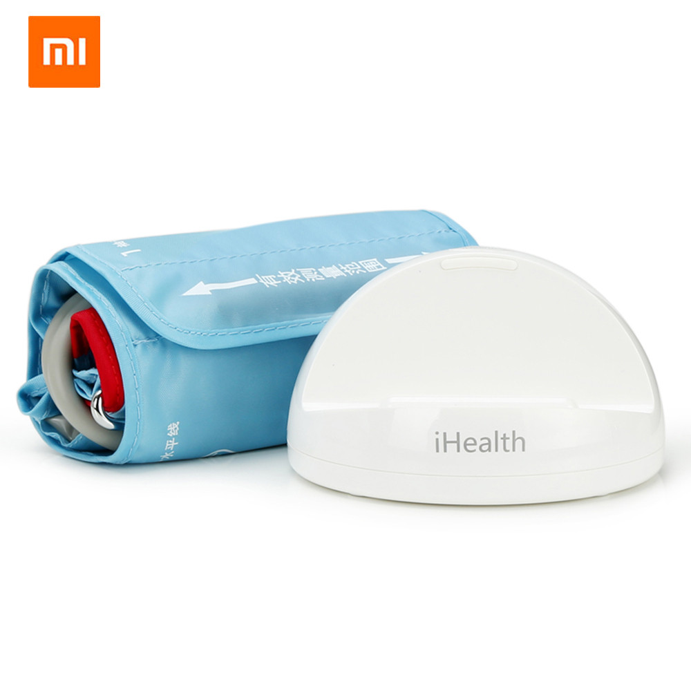 Personal Care Appliance Parts Xiaomi Mijia Ihealth Smart Blood Pressure Meters Dock Monitoring System For Xiaomi Mi Home App To Smart Phones Bluetooth Version