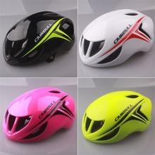 Sports Helmet Ultralight Aerodynamics Road Racing Bike Cycling Helmet Mountain Bike Integrated Molded 11 Holes Bicycle Helmet
