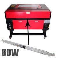 60 Вт лазерной трубки Стекло трубы 1000 мм для CO2 Резка гравировка машина USB