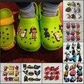 9pcs SpongeBob/Spider Man/the Secret Life of Pets PVC Shoe Charms,Shoes Accessories Fit Bands Bracelets Croc JIBZ,Kids Gift