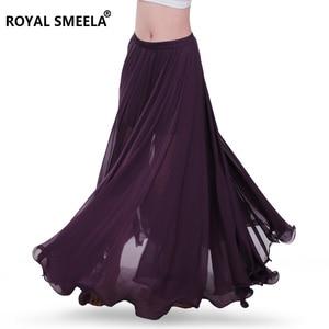 Image 3 - Femmes nouveau design 720 degrés ondé danse du ventre jupe bellydance robe danse tissu pratique porter performance danse du ventre costume