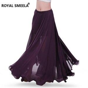 Image 3 - Phụ Nữ Mới Thiết Kế 720 Độ Vẫy Tay Múa Bụng Váy Bellydance Đầm Vũ Vải Thực Hành Mặc Biểu Diễn Múa Bụng Trang Phục