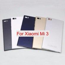 iSIU Black White Gold Back Housing For XIAOMI Mi3 Back Battery Cover Mi 3  Door Case df51b2c6b6