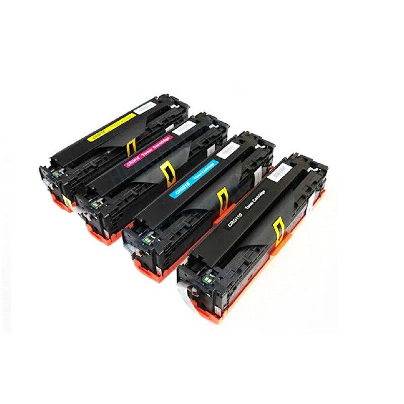 4 цвета тонер лазерного принтера совместимый тонер картридж для Canon LBP5050 MF 8030 8050 MF8050Cn принтер, бесплатная доставка