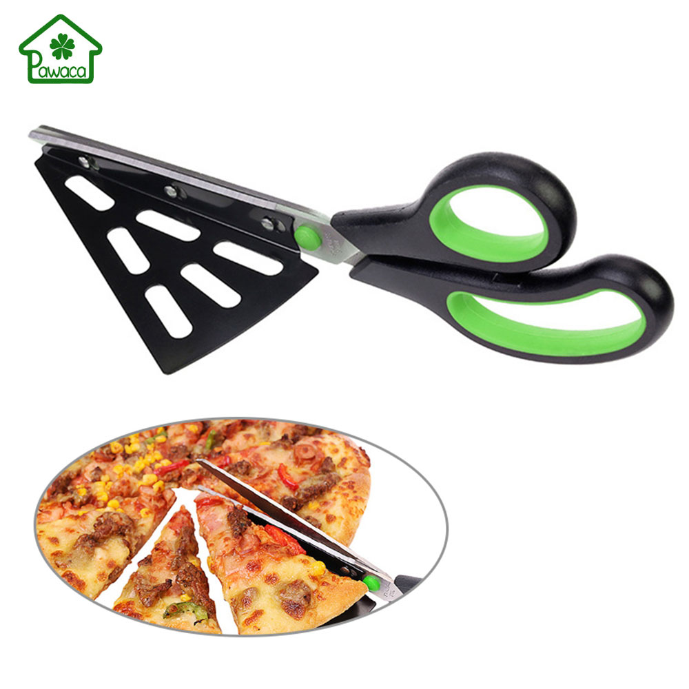 Pizza Cutter and All Purpose Kitchen Cutter /& Slicer with Detachable Blade