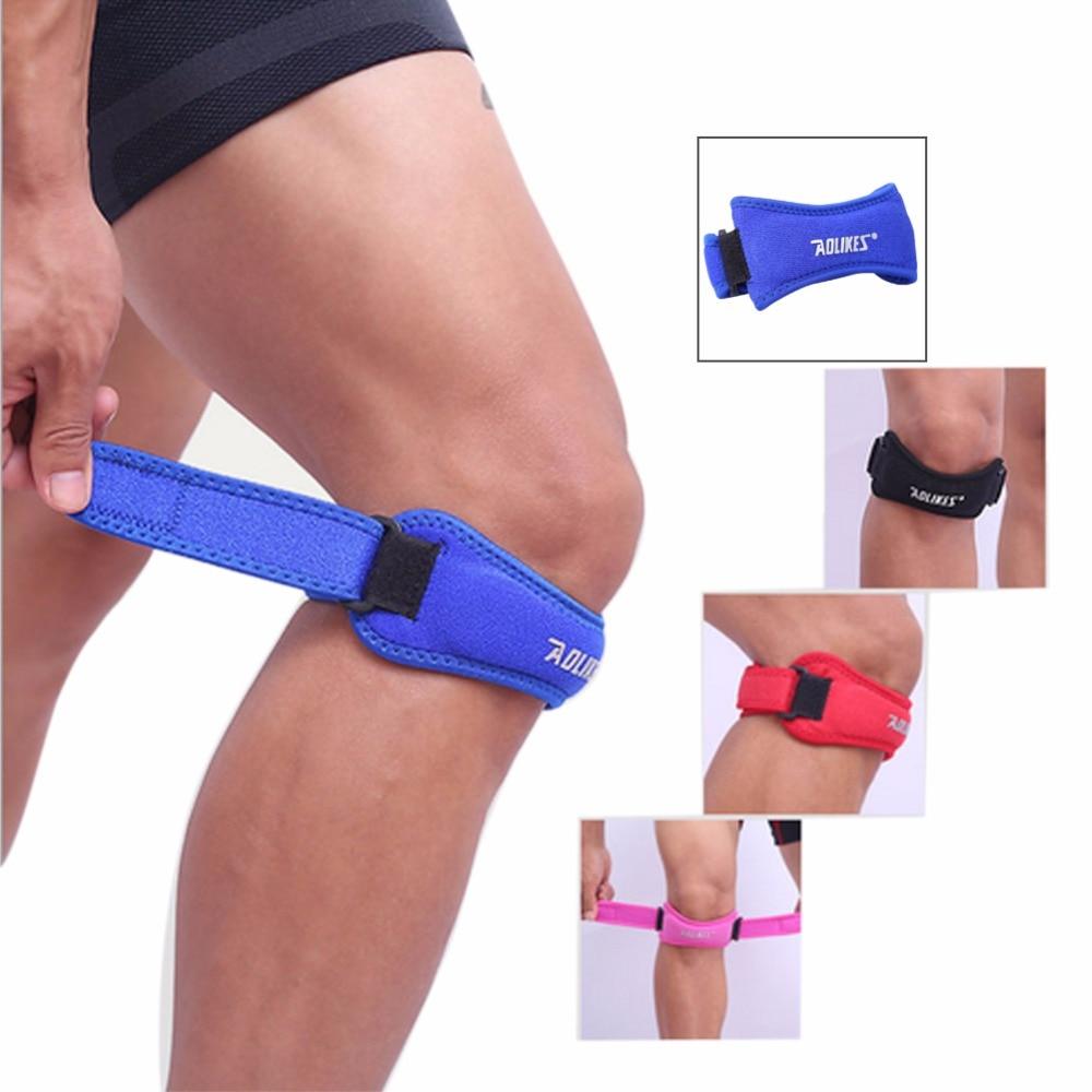 Aolikes 1PCS Adjustable Patella Support Knee Support Patella Brace Bandage Tendon Strap Belt Jumper GYM Knee Pads