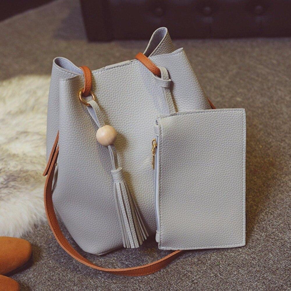 цены  Women Lady PU Leather Handbag Shoulder Bag Tote Purse Messenger Satchel Hobo Bag Gift