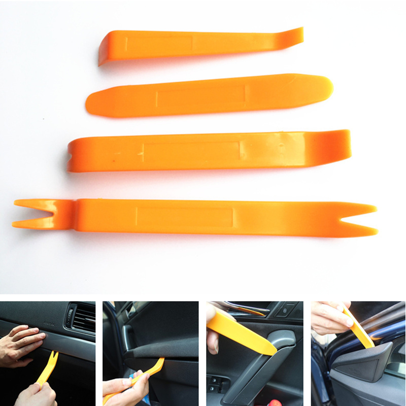 4pcs Car Audio Door Removal Tool For Toyota 4Runner Avalon Camry Corolla Cruiser Highlander Matrix Prius RAV4 Sequoia Sienna