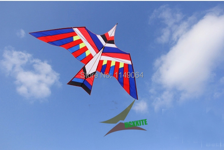 free shipping high quality 3m bird kite large kites with handle line ripstop nylon outdoor flying toys easy kite weifang hcxkite free shipping high quality 27m large snake kite fabric kite bar line ripstop nylon kite bird windsock kites for adults buggy