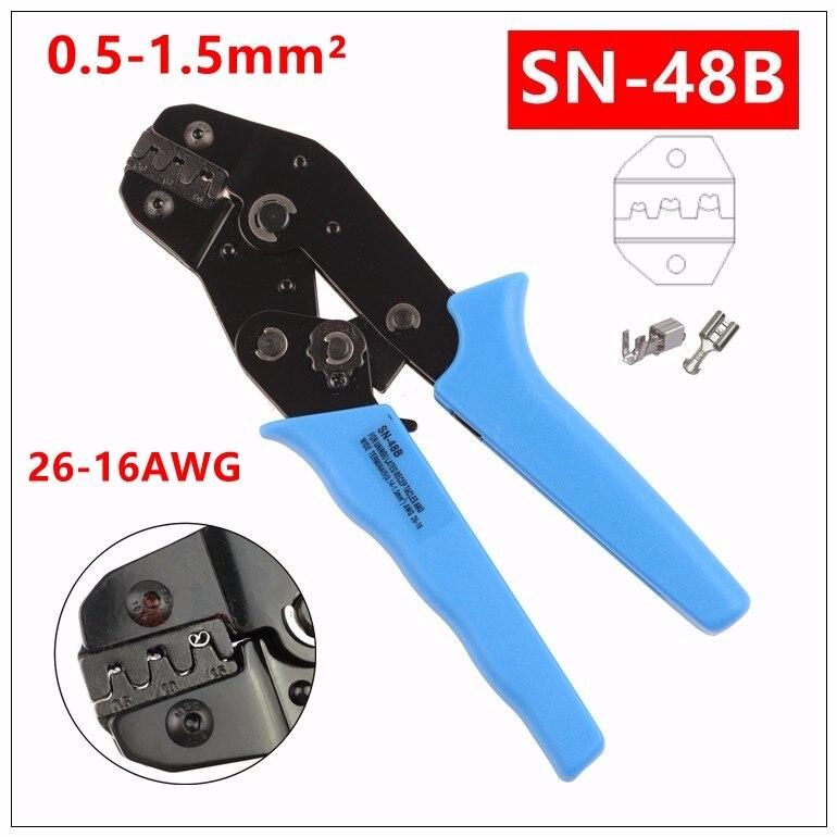 KüHn Mxita Sn-48b Tab 0,5-1.5mm2 Terminal Crimpzange Werkzeug Auto Stecker Crimpzange Handwerkzeuge