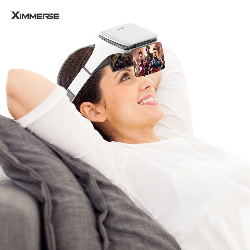 AR Boîte des Lunettes de Réalité Augmentée 3D VR Lunettes Casque de Réalité Virtuelle Pour Smartphone En Carton