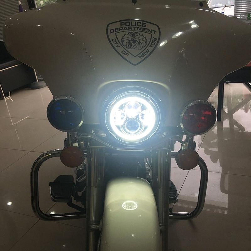 FADUIES 7 düymlük motosiklet LED proyektor H4 faralar Motosiklet - Motosiklet aksesuarları və ehtiyat hissələri - Fotoqrafiya 5