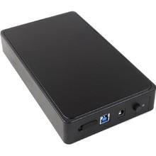 NOYOKERE External HDD Enclosure Case Box 3.5inch USB3.0 SATA External Storage Enclosure