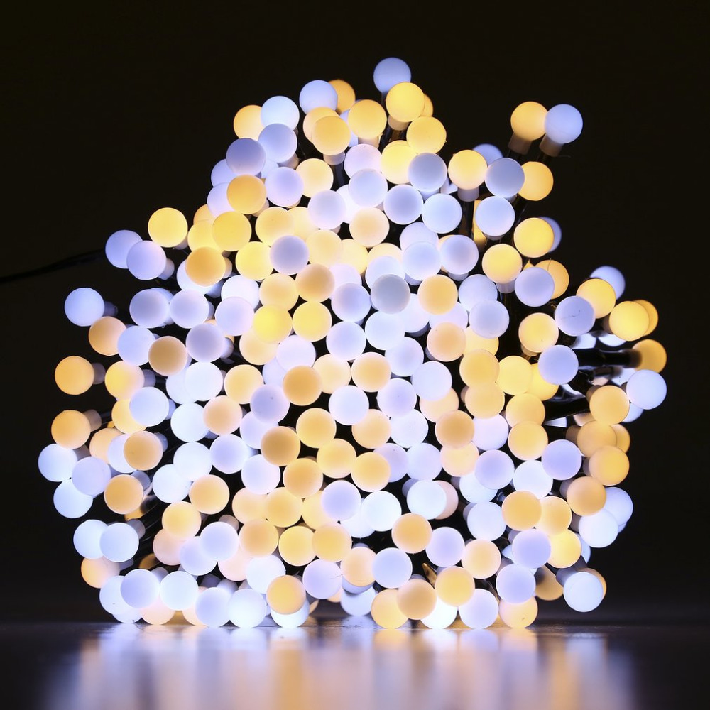 3m 400 Led Double Color Firecracker String Lights