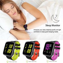 SHZONS GV68 Smart Watch Rate Monitor Clock Fitness Pedometer Bluetooth Swimming With Replaceable Straps For Android Ios Phone