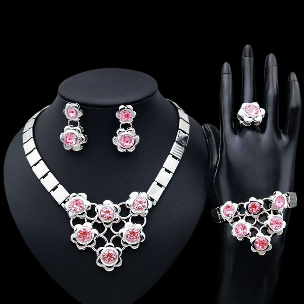 Yulaili 2018 New Design Jewelry Sets for Women Indian Jewelry Set Bridal Bridesmaids Elegance Jewerly Set.