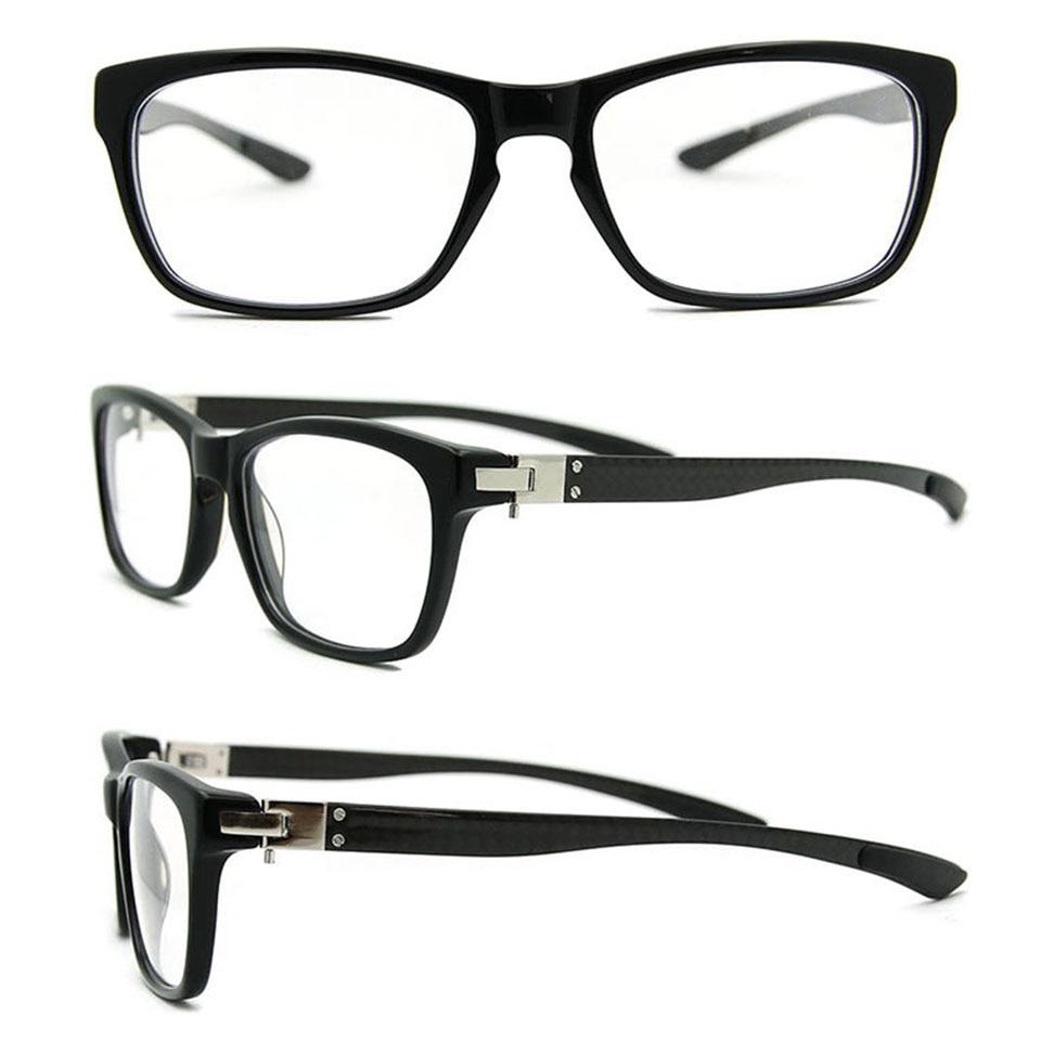 Free Shipping Wholesale (5pcs/lot)New 2014 Eyeglasses Frame Grade Spectacle Frame Carbon Fiber Retro Vintage Glasses