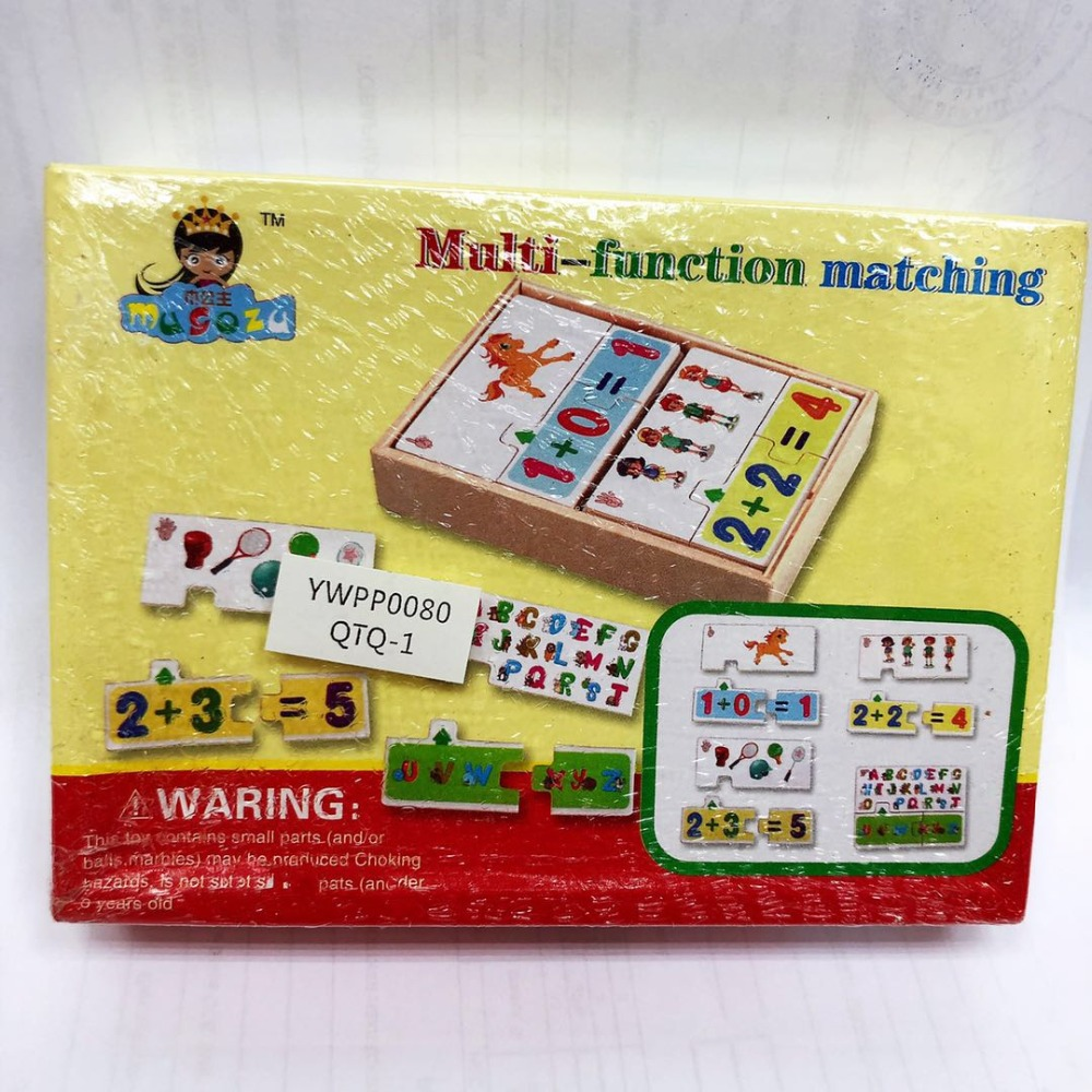 Puzzles For Kid Multipurpose Study Box Children's Educational Toys Learning Wooden Toys Gifts For Baby Shipping From Russia