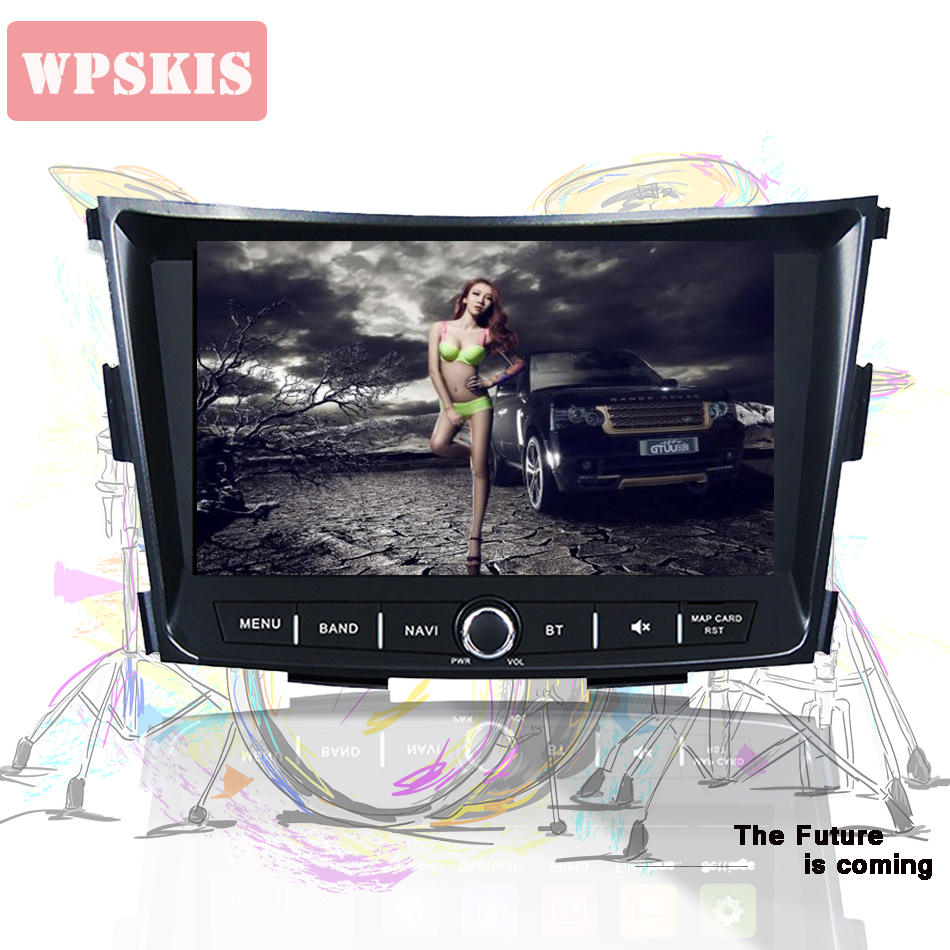 WPSKIS Android 9 0 PX5 RK3188 4GB RAM Autoradio pc tablet tape player For SsangYong Tivoli