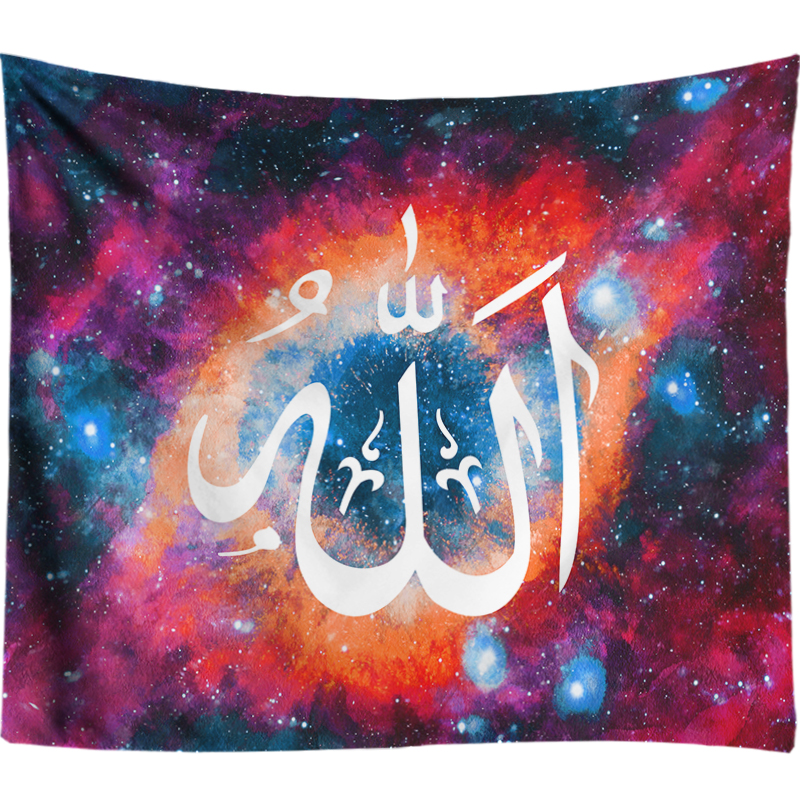 Home & Garden Methodical Allah Tapestry Wall Hanging Happy Ramadan Eid Decorations Indian Mandala Tapestry Galaxy Art Tapestries Bohemian Hippie Tapestry Numerous In Variety Tapestry