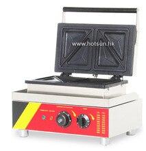 Commercial Non-stick 110V 220V Electric 4pcs Sandwich Press Maker Maker Iron Machine