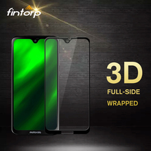Fintorp 3D 9H Tempered Glass For Motorola Moto G7 Screen Protector for One P30 Play Protective film Guard
