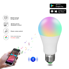 Energy-Saving Smart LED Bulb with Music Voice Control
