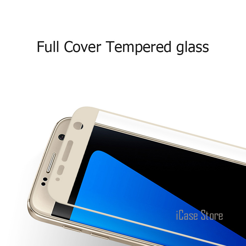 Tempered Glass For Samsung Galaxy S6 S7 Note 3 4 5 A5 A7 2016 A3 A5 2017 J5 J7 Prime Full Cover Screen Protector Case