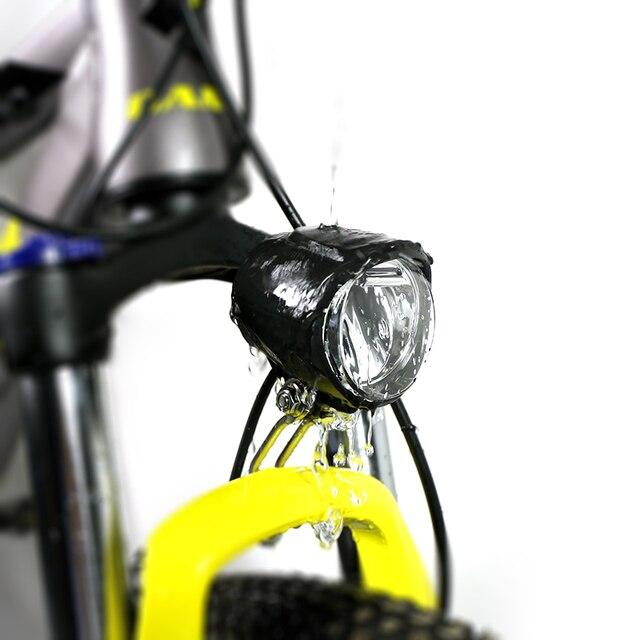 Electric Bike 6V LED Front Light 130CM Waterproof Flashlight For Bafang  eBike BBS BBS01B BBS02B BBSHD Mid Motor Conversion Kit